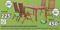 Hamar/ Kamstrup mobilier de gradina