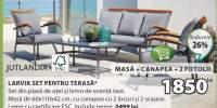 Jutlandia Larvik mobilier pentru terasa