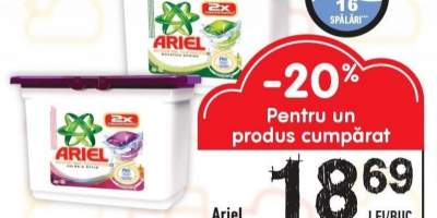 Ariel detergent Pods gel Regular/Alpine