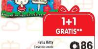 Hello Kitty servetele umede