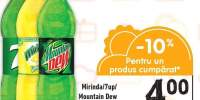 Mirinda/ 7up/ Mountain Dew suc carbogazos