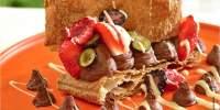 Millefeuille cu mousse de ciocolata