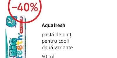 Aquafresh pasta de dinti pentru copii