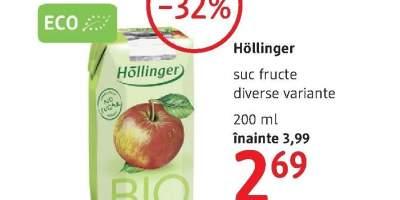 Hollinger suc fructe