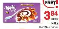Chocominis biscuiti Milka