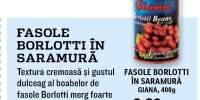 Fasole Borlotti in saramura Giana