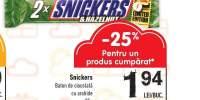 Baton de ciocolata Snickers