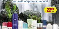 50% reducere la al doilea deodorant sau antiperspirant cumparat