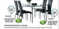 Storvorde masa si scaune