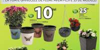 Reducere intre 25-50% la toate ghivecele de flori