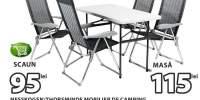 Nesskogen/ Thorsminde mobilier de camping