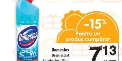 Domestos dezinfectant Atlantic/ Pine/ White