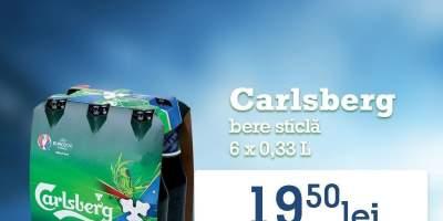 Bere sticla Carlsberg