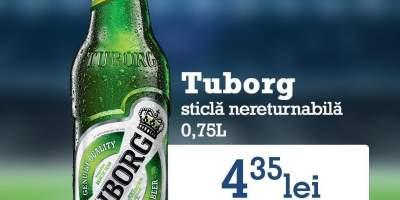 Tuborg sticla nereturnabila