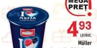 Muller iaurt cu bucati de fructe