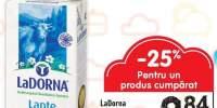 LaDorna lapte UHT 1.5% grasime 1 L