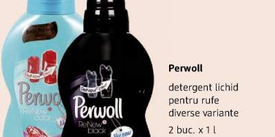 Detergent lichid pentru rufe Perwoll