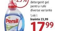 Detergent gel pentru rufe Persil