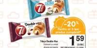 Croissant cu crema 7days Double Max