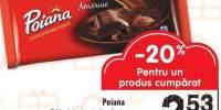 Tableta de ciocolata amaruie Poiana