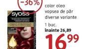 Vopsea de par Syoss Color Oleo