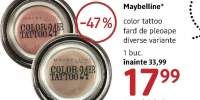 Fard de pleoape Color Tattoo Maybelline