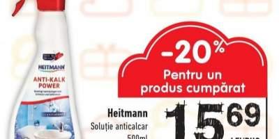 Solutie anticalcar Heitmann
