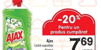 Lichid suprafete Ajax