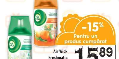 Rezerva spray Air Wick Freshmatic