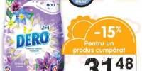 Detergent pudra 2 in 1 Dero