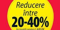 Reducere intre 20-40% la toata gama Larvik