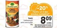 Condimente grill pentru carne la gratar Kamis