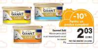 Mancare pentru pisica cu pui mousse/ spuma curcan/ ton mousse Gourmet Gold