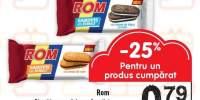 Biscuiti cu crema de rom&vanilie/ rom&cacao/ cacao&crema de frisca Rom