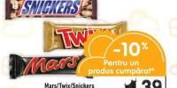 Baton clasic Mars/ Twix/ Snickers