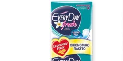 Absorbante Fresh Normal Everyday