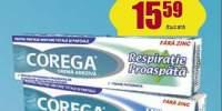 Reducere 35% la adezivii Corega