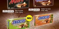 Inghetata Bounty/ Snickers/ Twix/ Mars