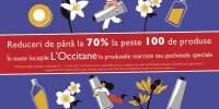 Reduceri de pana la 70% la peste 100 de produse!