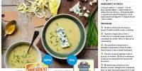 Supa-crema de andive cu branza Roquefort