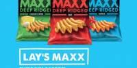 Chips din cartofi Lay's Maxx