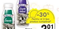Sana 3.6% grasime/ lapte batut 2% grasime Albalact