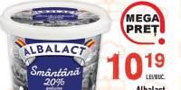 Smantana Albalact 20% grasime