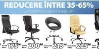 Reducere intre 35 - 65% la toate scaunele de birou