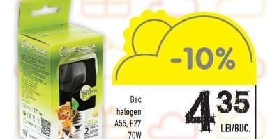 Bec halogen A55, E27