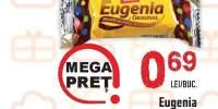 Biscuiti cu crema de cacao Eugenia