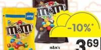 Drajeuri cu ciocolata/ arahide M&M'S