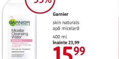 Apa micelara Garnier Skin Naturals