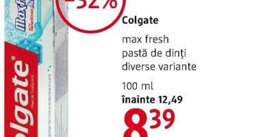 Pasta de dinti Colgate Max Fresh