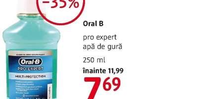 Apa de gura Oral B